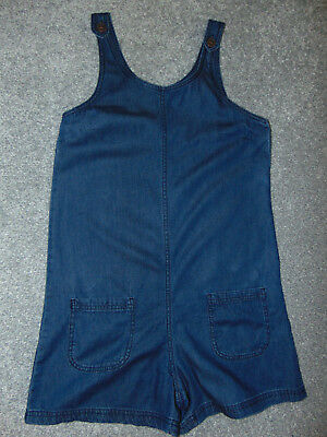 Girls' Age 12 Years, Denim All-In-One/Short-Suit by Next, Very Good Condition!