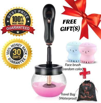 Electric Makeup Brush Cleaner and Dryer Machine | Automatic Spinner Cleaner | 36