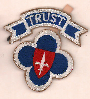 Trieste Forces Army patch