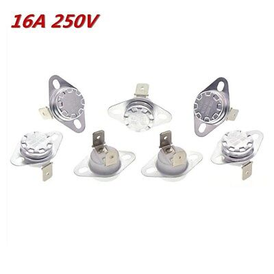 16A 250V KSD302 40°C~180°C Thermostat Temperature Thermal Control Switch NO/NC