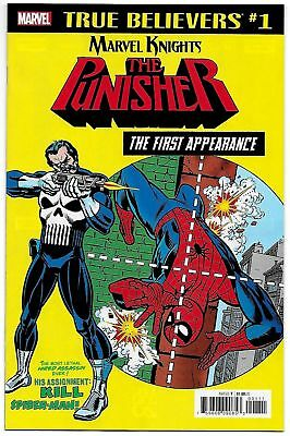 AMAZING SPIDERMAN #129 True Believers variant NM unread 1st Appearance PUNISHER