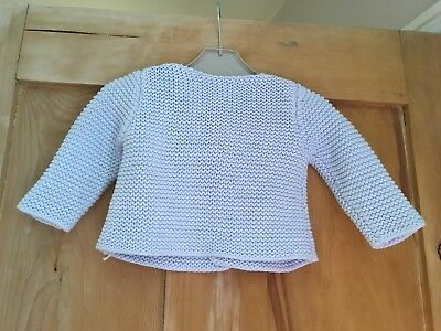 Unisex Blue Mothercare Cardigan Age 0-3 Months
