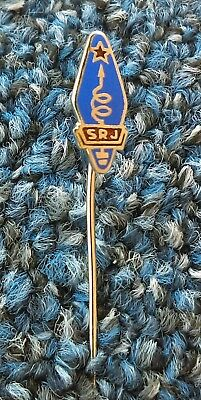 RADIO AMATEUR, Telecommunications - SRJ Yugoslavia, vintage pin badge !