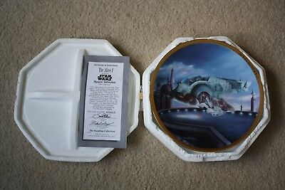 Star Wars Space Vehicles The Slave I Hamilton Collector Plate 1995