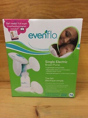 Evenflo Single Electric Breast Pump online Breastfeeding Class included
