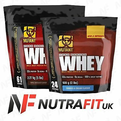 MUTANT WHEY protein isolate concentrate hydrolyzed multi blend