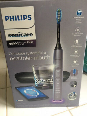 Philips Sonicare Diamond Clean Smart 9500 Toothbrush Gray (LK398)  New!