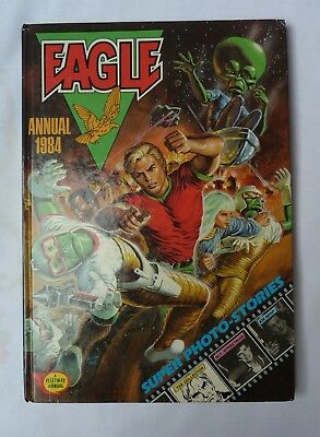 Eagle Annual 1984 Book Fleetway Annual Unclipped Excellent