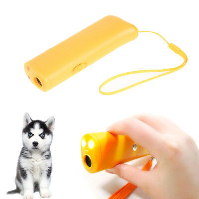 New Ultrasonic Anti Bark Stop Barking Dog Training Repeller Control Trainer OM