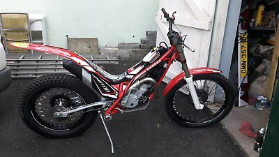 gas gas txt 250 trials bike