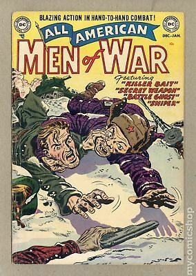 All American Men of War #2 1952 GD/VG 3.0