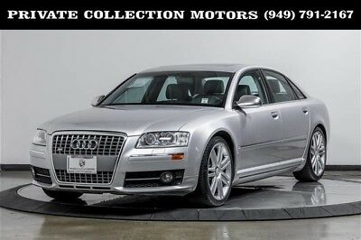 2007 Audi S8  2007 Audi S8 1 Owner Clean Carfax $111,295 MSRP Well Kept Low Miles