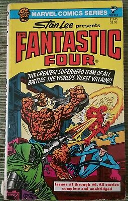 The Fantastic Four Pocket Book #1 issues 1-6