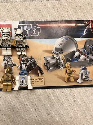 Lego Star Wars 9490 Droid Escape W Instructions Minifigs 599
