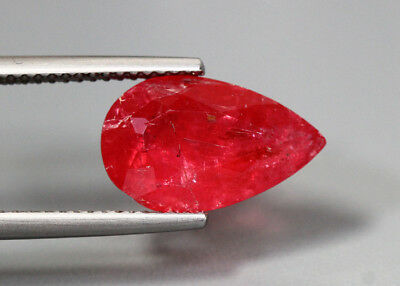 4.47 Cts_Unbelivable Very Rare Gemstone_100 % Natural Unheated Red Rhodonite