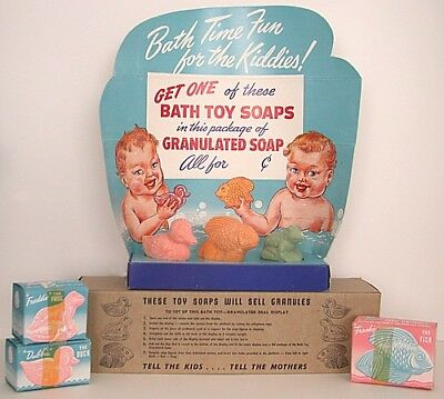1940s Toy Bath Soap Store Display