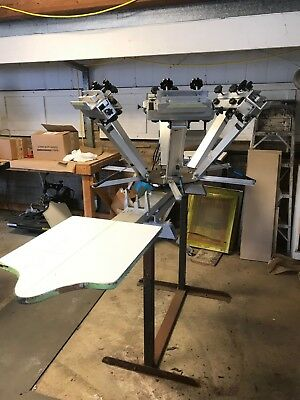 silk screening equipment press screens tank squeegees exposure unit flash dryer