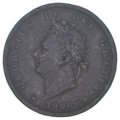 1826 Great Britain 1 Penny *1045