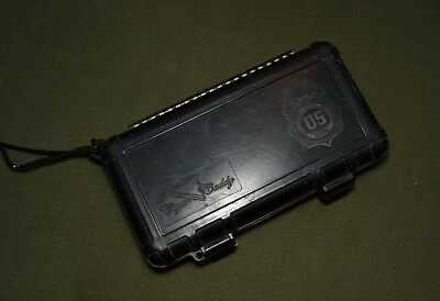 Otterbox Cigar Caddy, labeled US Special Agent