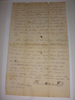 Promissory note from Harrison County Virginia, now West Virginia (WV) July 1826!