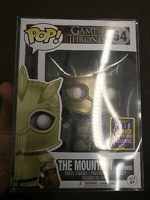 Funko Pop! Pop The Mountain Mint SDCC 2017 .45mm Protector Game Of Thrones #54