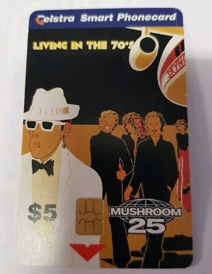 Telstra Smart Phone Card Skyhooks Living in the 70s