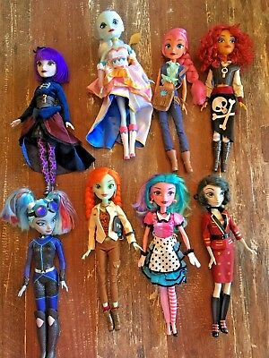 Lot Disney Attractionistas dolls Pearl Maddie Twilight Zone retired Gracey Celes