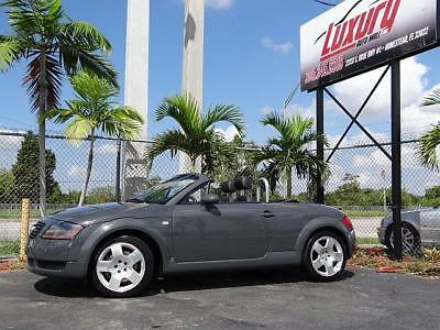 2001 TT Audi TT 225HP 6 SPEED ROADSTER 2001 QUATTRO 2001 Audi TT * NO RESERVE AUCTION * 225HP CONVERTIBLE LOW 58K MILES MUST SEE