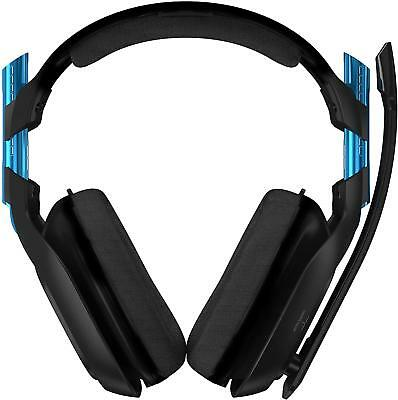 ASTRO Gaming A50 Wireless Dolby Gaming Headset (Black/Blue) PS4 + PC - (READ) UD
