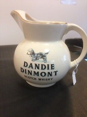 Advertising Water Jug - Dandie Dinmont Scotch Whisky - RARE, HIGH VALUE