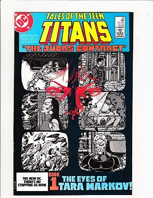 Tales Of The Teen Titans #42 Judas Contract Part 1 1984 Nightwing Wolfman Perez