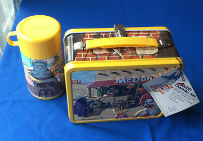 1983 Aladdin Metal Lunch Box & Thermos Mcdonald's Sheriff Of Cactus Canyon Nwt!