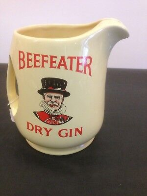 Advertising Water Jug - Beefeater London Gin