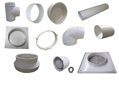 100 Air Duct Abluftsystem Flat Channel Extractor Fan Curve Ventilation Tube