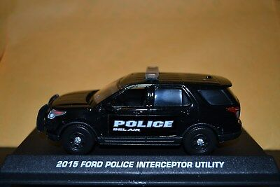 Bel Air, MD Police 2015 Ford Utility 1/43rd scale