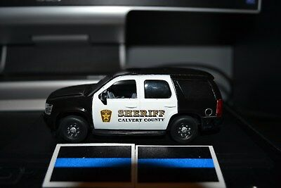Calvert County, MD Police 2012 Chevy Tahoe PPV 1/43rd scale