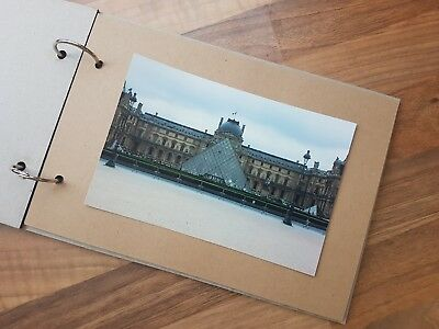2 pack of A5 - DIY 10 Page Photo Album/Scrapbook - Brown