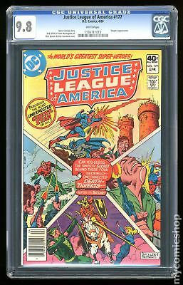 Justice League of America (1st Series) #177 1980 CGC 9.8 1136711015