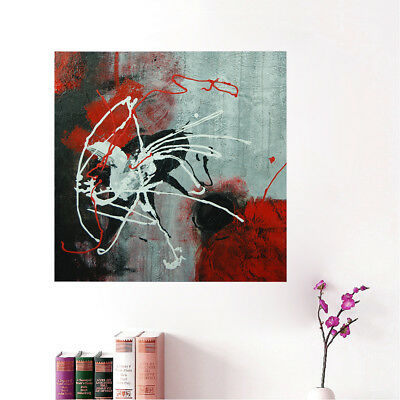 Abstract Hand Painted Art Canvas Oil Painting Home Decor Framed Ready To Hang