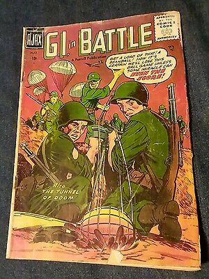 G.I. in Battle #1 gd Ajax 1957 golden age war comic movie lot run set collection