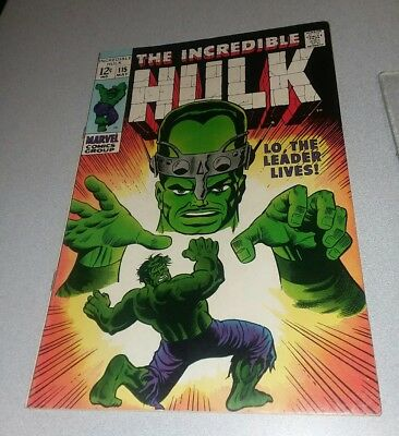 Incredible Hulk (1st Series) #115 silver age classic 1969 FN 6.0 stan lee trimpe