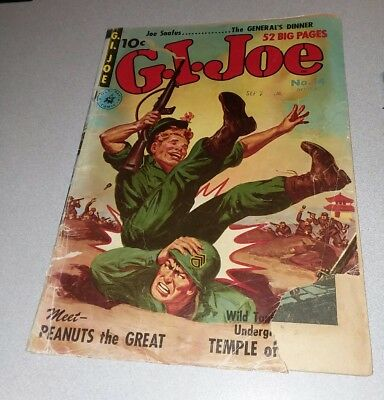 GI Joe (Ziff Davis) #14 precode war 1951 Comics lot run set movie collection