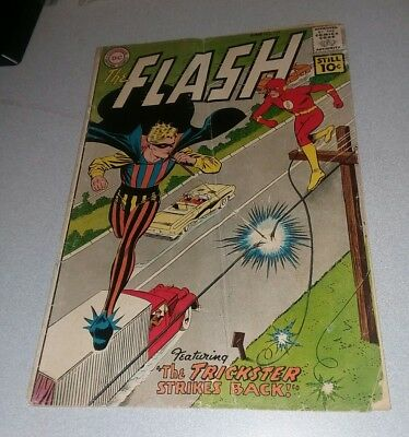 The Flash #121 dc comics 1961 2nd Trickster appearance 1st print silver age lot
