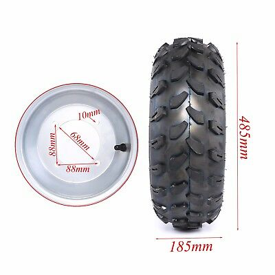"19x7-8"" inch Wheel Rim Tyre 150/200cc Quad Dirt Bike ATV Buggy 19x7.00-8 Tires"