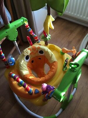 Baby Bouncer, Mothercare Safari Jumping Giraffe Entertainer. Jumperoo style