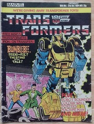 Transformers UK Comic Issue 3