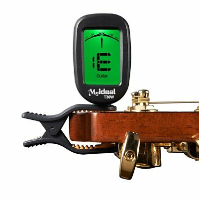 Premium Meideal Clip on Chromatic Tuner for GUITAR,BASS, UKULELE,VIOLIN,BANJO 0A