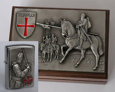 Zippo Lighter ● Templer 2 Crusader Limited Holzbox ● 2003685 Neu New OVP ● B10