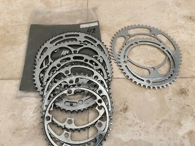 8 Vintage cycling front chain rings