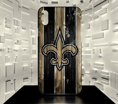 Custodia rigida per iPhone X New Orleans Saints NFL Team 05